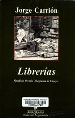 Jorge Carrión, Librerías