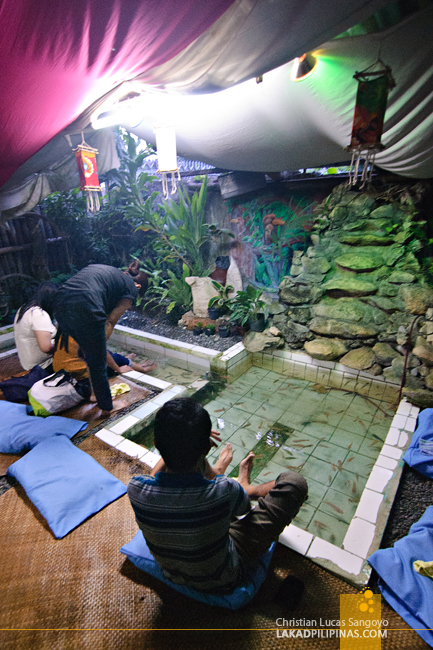 Tibiao Fish Spa in Antique