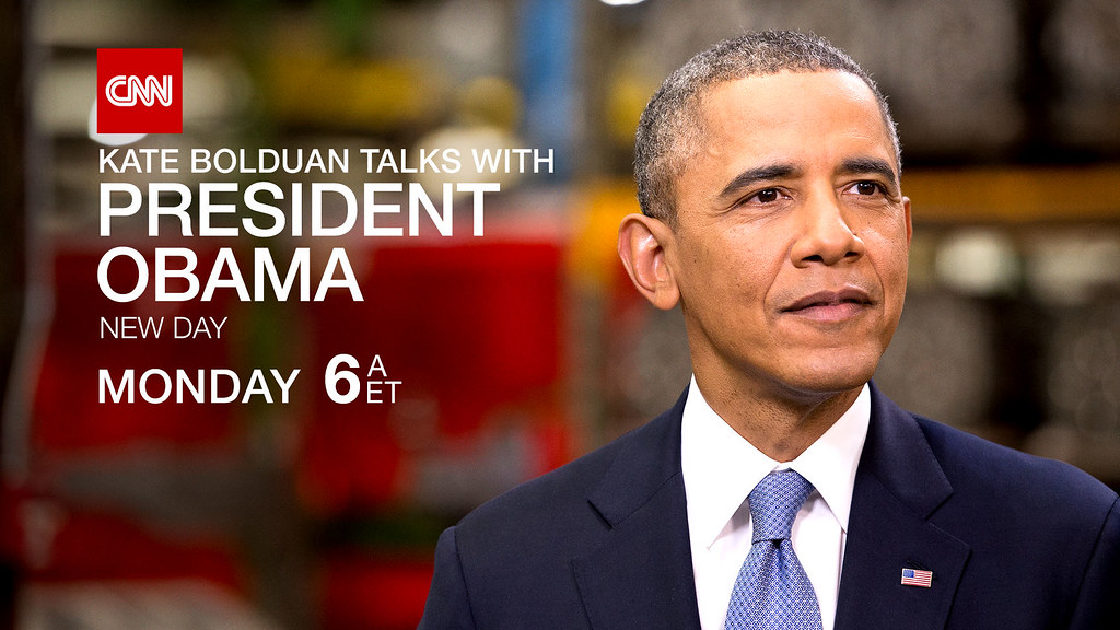 CNN's Kate Bolduan to Interview President Obama, Monday