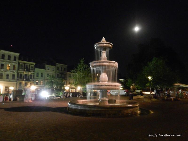 Любляна ночью
