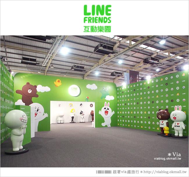 【台中line展2014】LINE台中展開幕囉!趕快來去LINE FRIENDS互動樂園玩耍去!(圖爆多)8