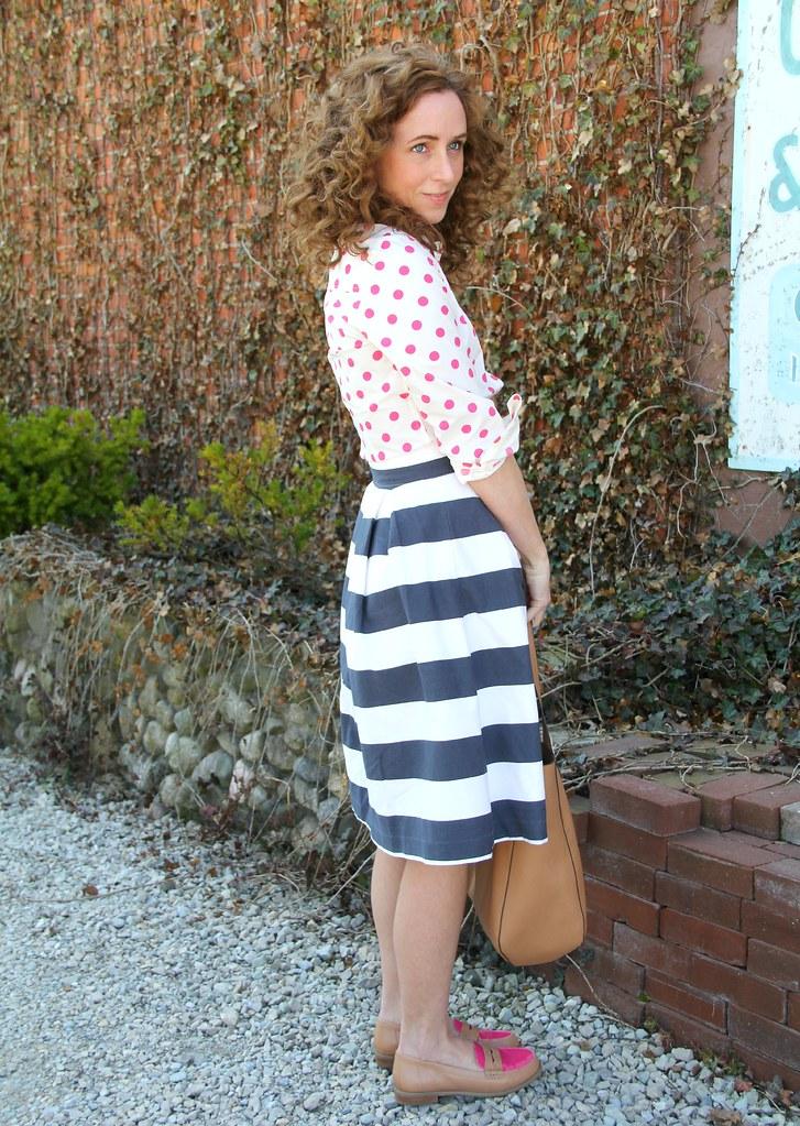 how to dress modest for summer via Kristina J blog