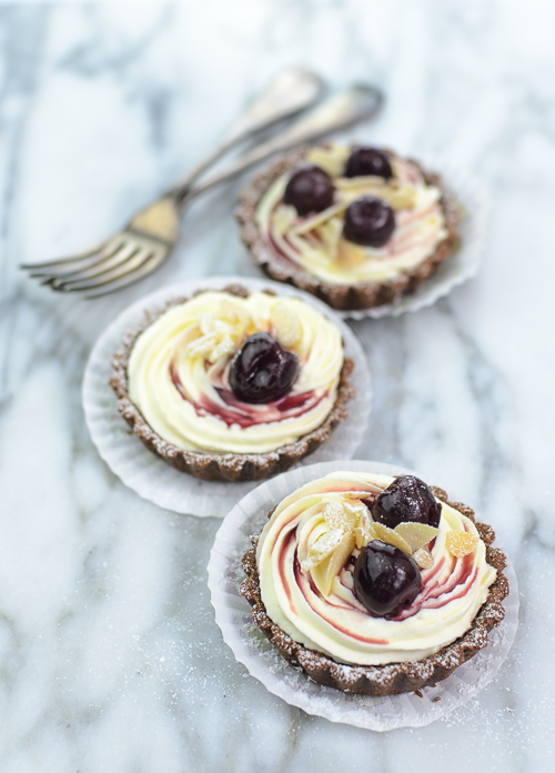 Tim Tam Cherry Tartlettes