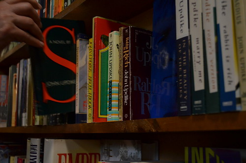 John Updike/bookshelf || Bookends & Beginnings