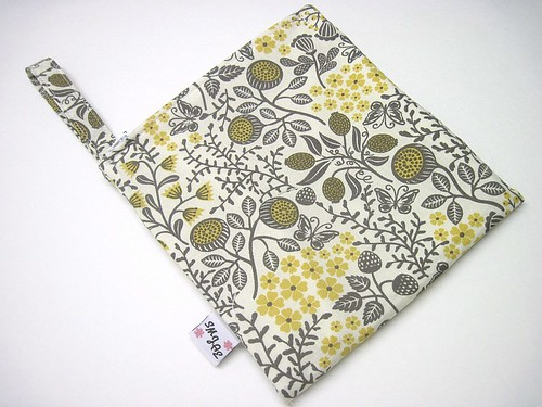 Gray & Yellow Paltrow Flatiron Wet/Dry Bag