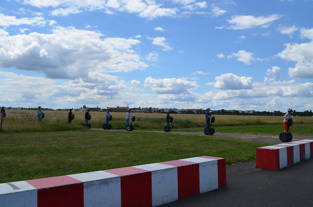 European Instagram meetup #EverchangingBerlin_Tempelhofer Feld segway tour