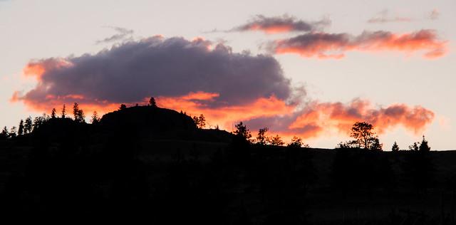Penticton sunset