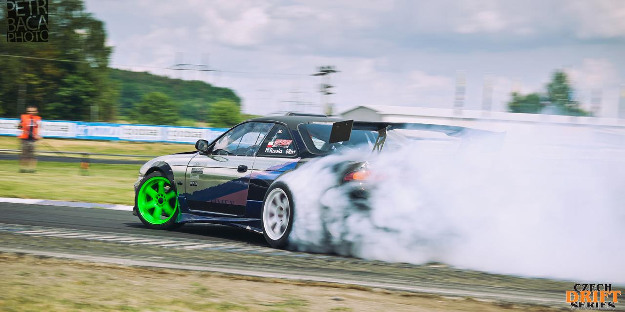 Czech Drift Series, CDS, Drift Allstars, Autodrom Sosnová, Česká Lípa, Nissan S14 Silvia, Michal Rzoska,