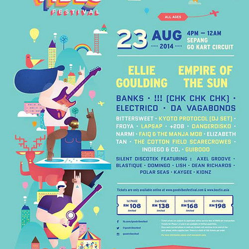 Good Vibes Festival 2014 Official Poster