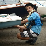 14 June, 2014 - 13:54 - French sailor inspecting the ballast of his vessel