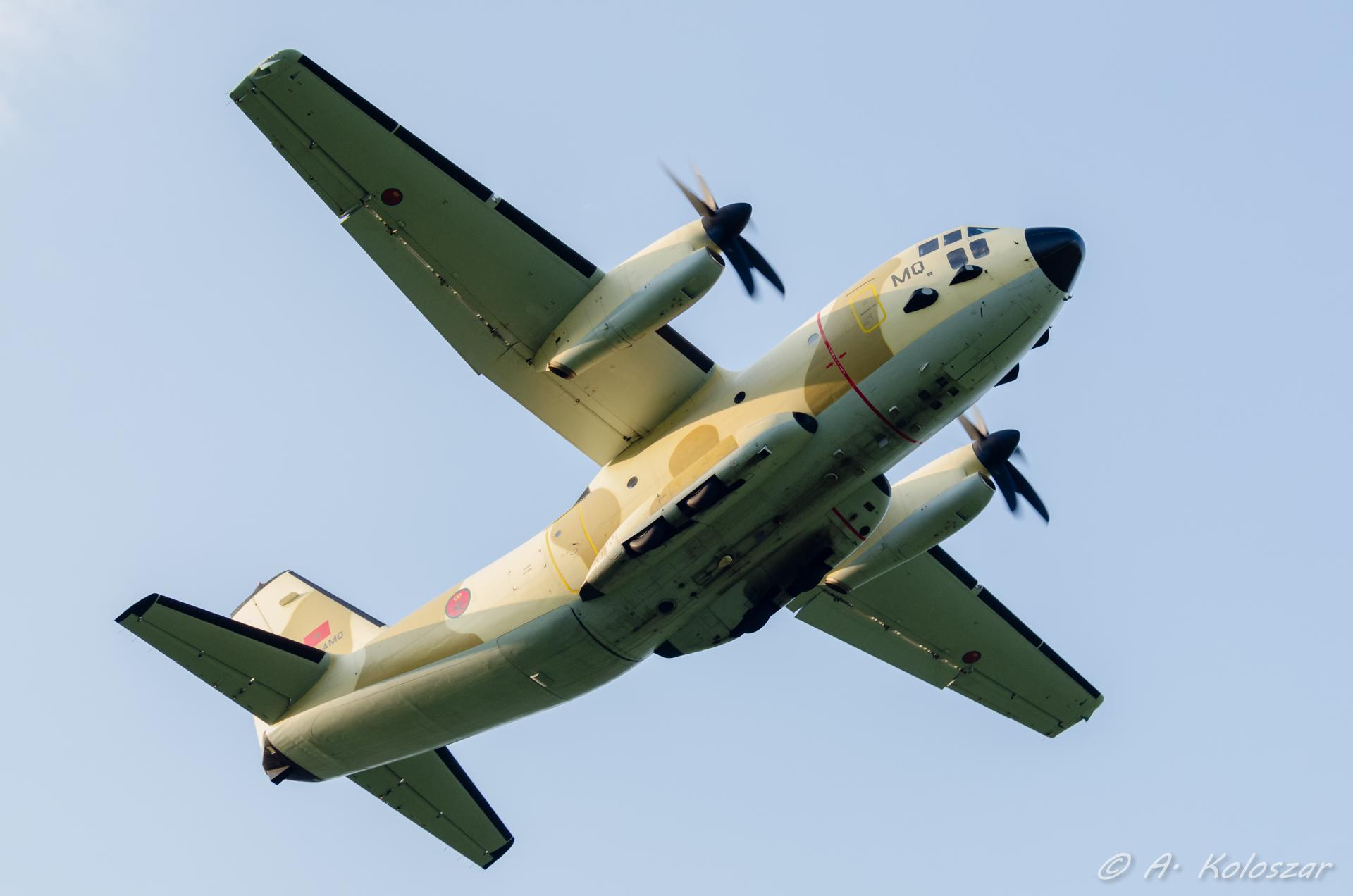 طائرات النقل العاملة بالقوات المسلحة المغربية - صفحة 2 14510003860_1fb6fe566e_o
