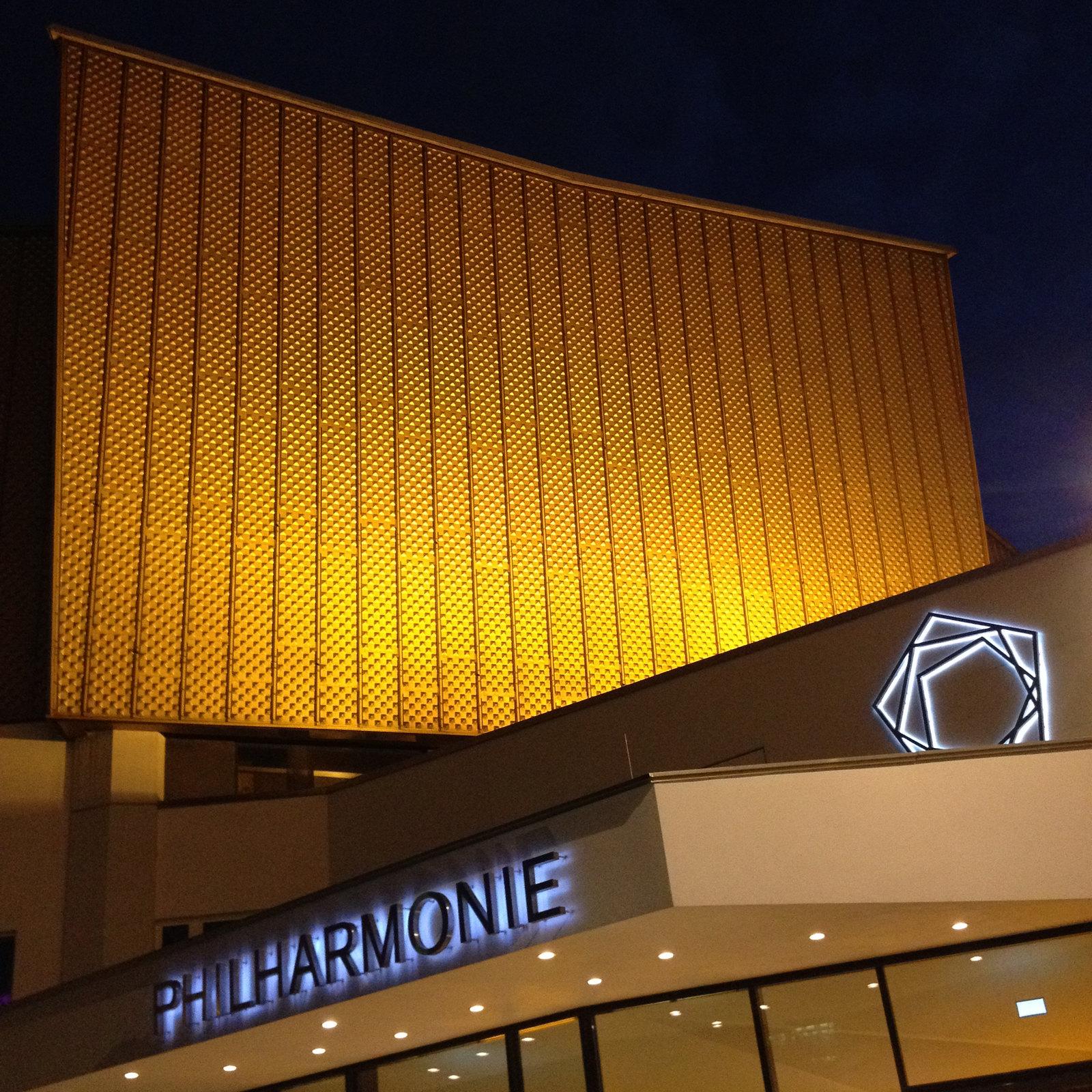 Concert à la Berliner Philharmonie - Carnet de voyage à Berlin