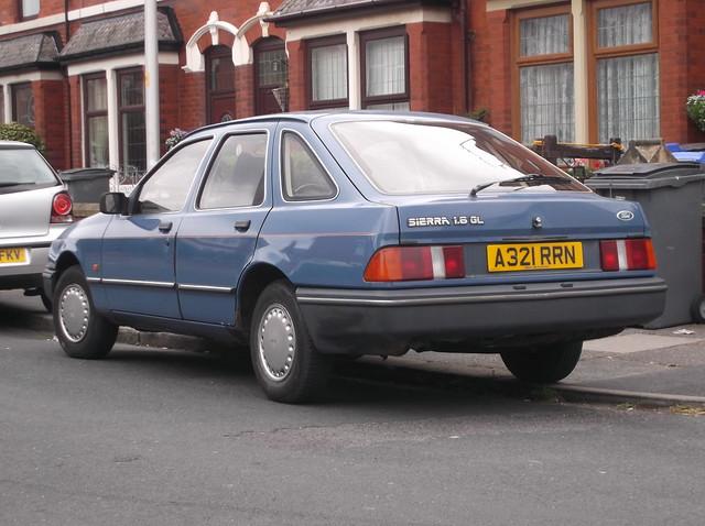 1984 Ford Sierra 1.6 GL Mk1, Fujifilm FinePix JX650