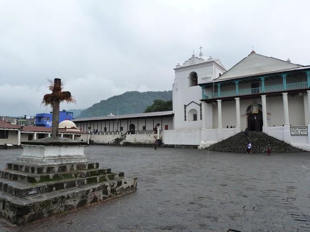 Iglesia parroquial de Santiago Atitlán (Lago Atitlán, Guatemala)