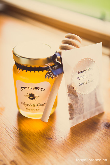 Diy Honey Jar Wildflower Seed Packets Wedding Favours