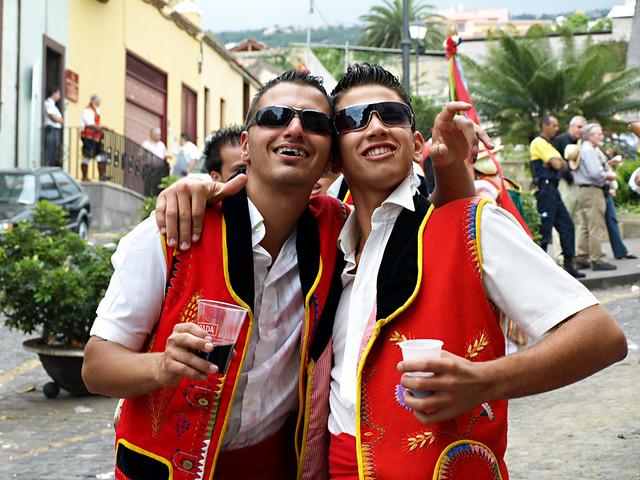 Muchachos at a romeria, La Orotava, Tenerife