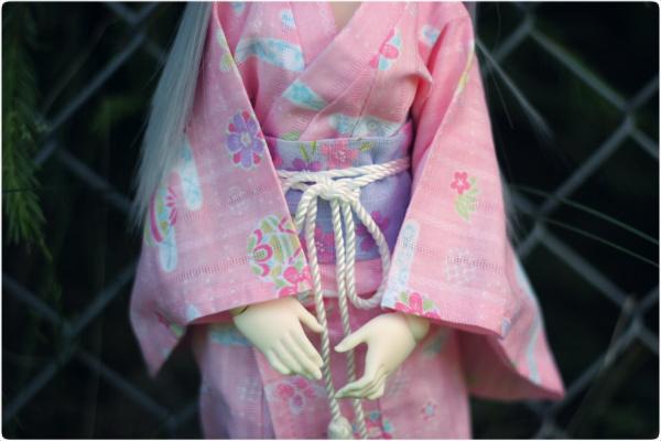 Pink yukata I