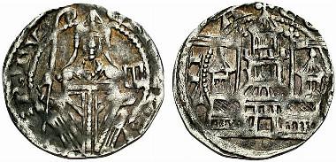 coin of Engelbert I of Berg
