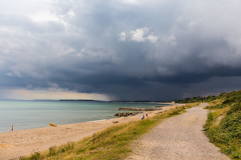 Storm over Poole and Bournemouth