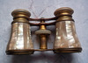 Antique Lemaire Paris mother of pearl opera glasses