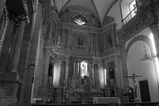 Guadalajara - Templo de San Agustin altar