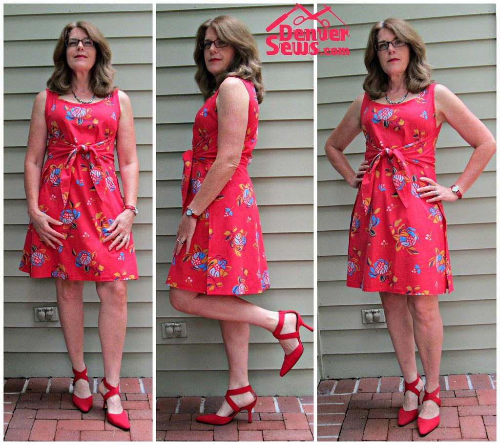 w is for wrap dress  u2013 butterick 3485  u2013 a pattern review
