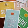 Super cute free printable lunch notes on the blog! Love these designs by @papercrave:-) Find hundreds of freebies in my back to school section at LivingLocurto.com. Watch out for lots of new free designs and back to school ideas in August. #school #freepr