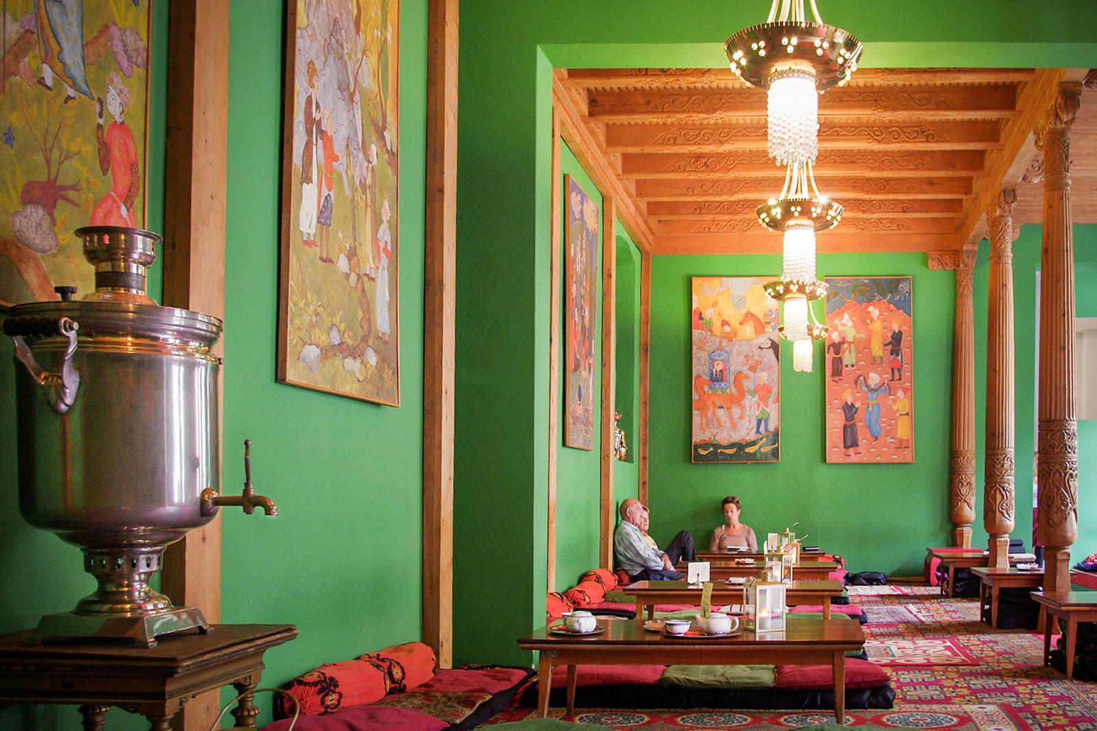 Bons plans Berlin - Maison de thé tadjik