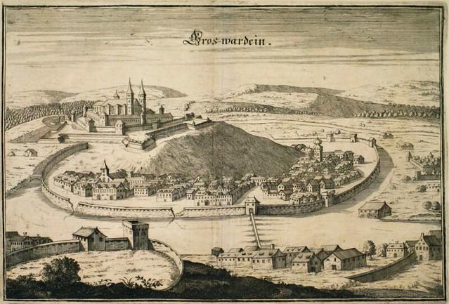 Matthäus Merian - Grosswardein, 1650