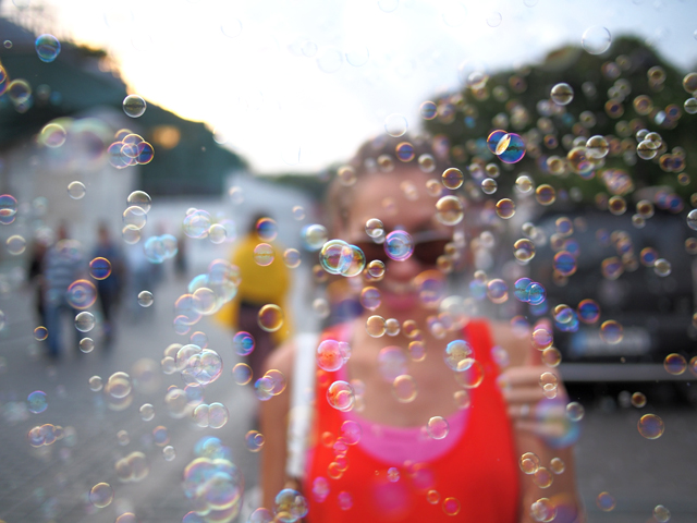 bubbles in istanbul