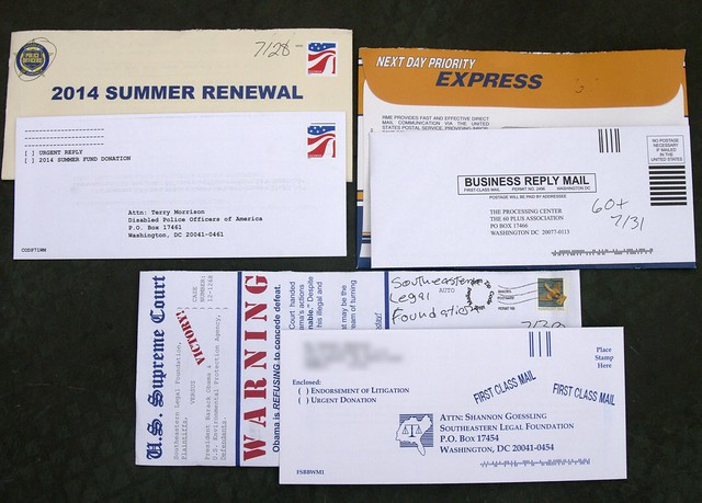 Base Connect junk mail