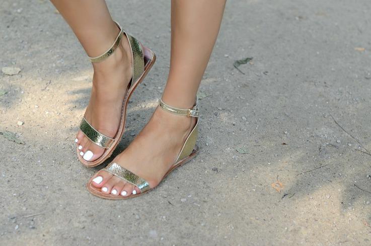DSC_7786 Zara Gold Sandals
