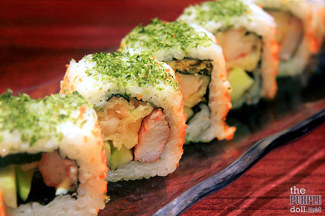 Tempura Ura Maki - California Roll with Prawn Tempura (P770)