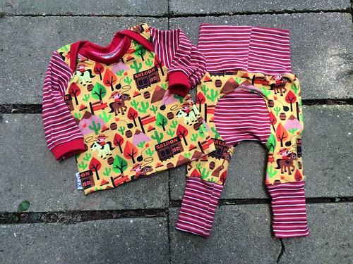 Bumstoppers BumSpot Pants 0-6 months 3-6 Cowboy Lap