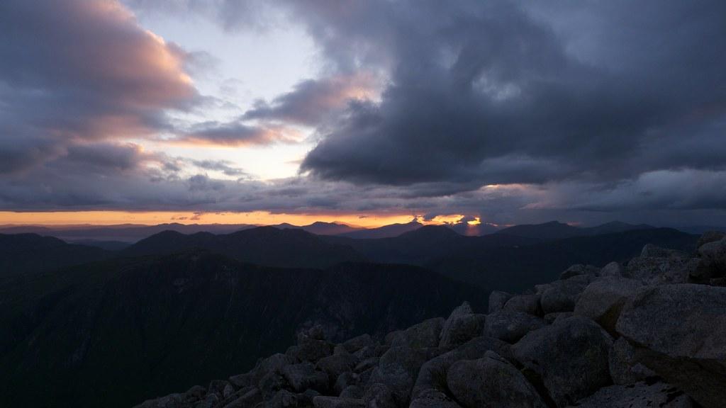 Sunset from Ben Starav