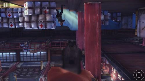 Action โดนห้อยกลับหัวยิงคู่ต่อสู้ป้องกันตัว