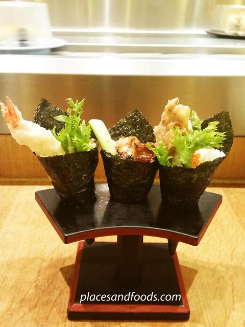 sushi zanmai temaki sushi