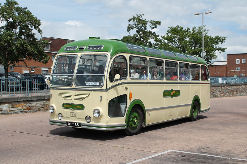 Exeter Bus Station 50th Year