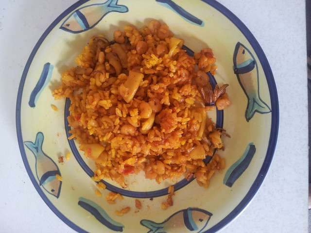 Arroz a banda Portion