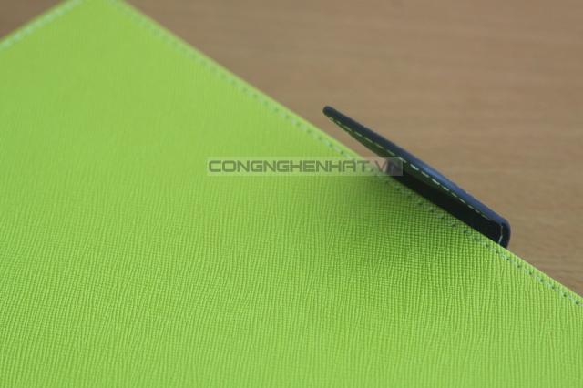 Bao da Sony Xperia Tablet Z (SO-03E) kiểu vải thời trang hiệu Goospery