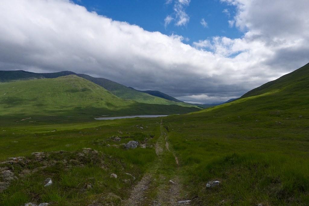Looking back to Loch Dochard