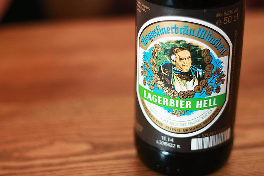 Lagerbier Hell olut