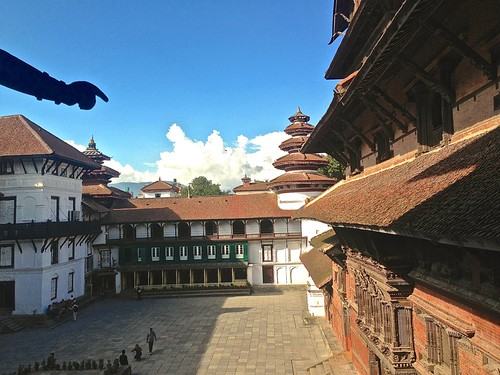 The Royal Palace at Durbar Square Kathmandu