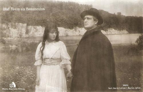 Olaf Fönss in Homunculus 3. Die Liebeskomödie des Homunculus