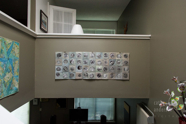 drawing frame hanging (in setting)