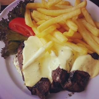 #moah! Auch wenn's Tütensauce war, wars lecker ;) #maredo #steak #stuttgart