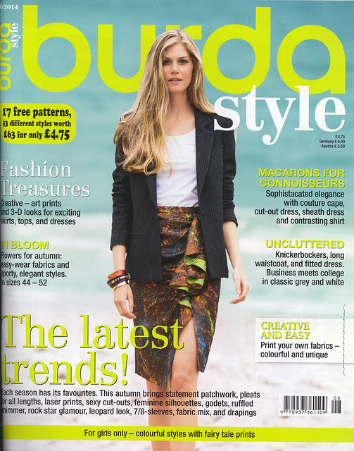 Burda-August-2014 Cover