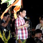 Davao's biggest idol giving opening speech of Kadayawan 2014