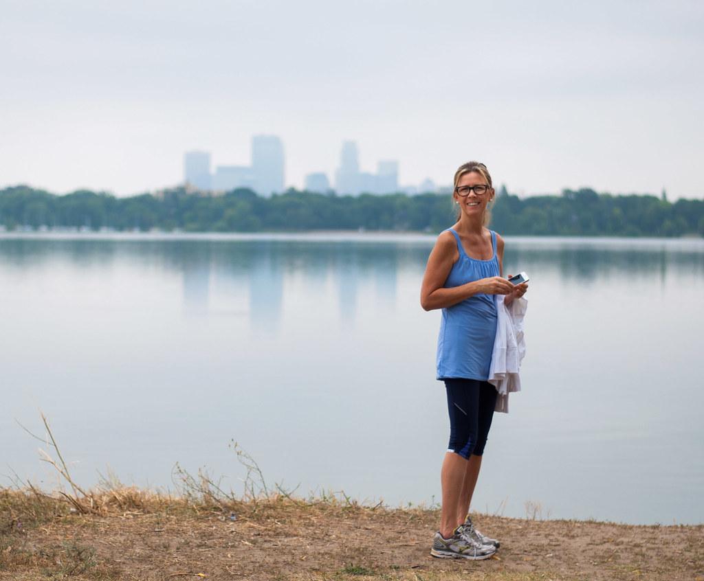 Calhoun and the muggy skyline
