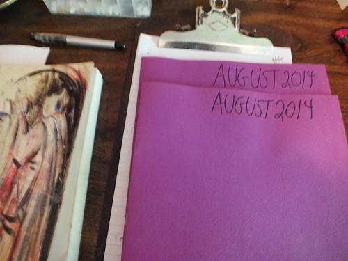 August 2014 diary
